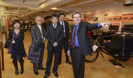 MassLive: Changchun Railway Vehicles Co. Executives Tour Springfield History Museum