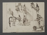 Antonio Canella, Untitled, pen and ink, George Walter Vincent Smith Art Museum, Springfield Museums, Springfield, Massachusetts, 3.23.79