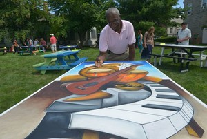 Art Picnic 2014 at the Michele & Donald D'Amour Museum of Fine Arts