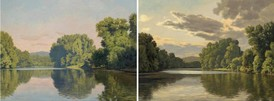 Artist Donates Two Paintings Of The Connecticut River