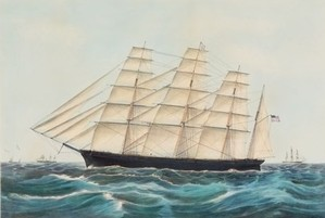 Currier & Ives and the Majesty of the Sea: Clipper Ships and Steamboats at the Michele & Donald D'Amour Museum of Fine Arts