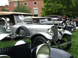 Springfield Museums Host Vintage Car Show