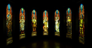In Company with Angels: Seven Rediscovered Tiffany Windows at the Michele & Donald D'Amour Museum of Fine Arts