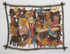 Re-collections: Found Object Quilts by BZ Reily at the Michele & Donald D'Amour Museum of Fine Arts