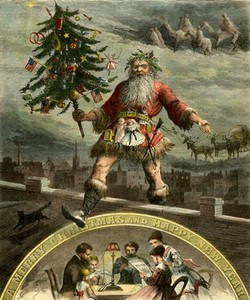 Santa Enlists in the Civil War at the Lyman & Merrie Wood Museum of Springfield History