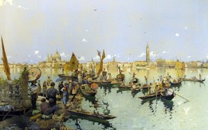The Allure of Italy: Late 19th-century Italian Watercolors at the Michele & Donald D'Amour Museum of Fine Arts