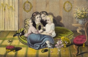 The Season of Joy: Childhood Captured in Currier & Ives Prints at the Michele & Donald D'Amour Museum of Fine Arts
