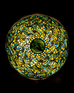 Tiffany Windows And Lamps On View At D'Amour Museum Of Fine Arts