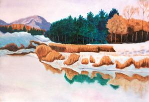 New England Landscapes By Local Artist On View At Museum Of Fine Arts