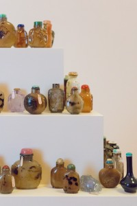 Chinese Snuff Bottle display, 19th Century, Cabinets of Curiosity, George Walter Vincent Smith Art Museum