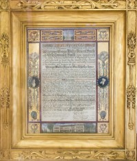 Commendation, Given to GWVS from City of Springfield, c. 1922, Cabinets of Curiosity, George Walter Vincent Smith Art Museum