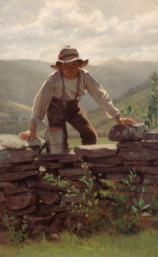 The Berry Boy, John George Brown