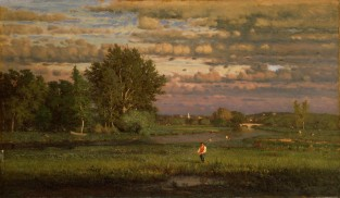 Clearing Up, George Inness