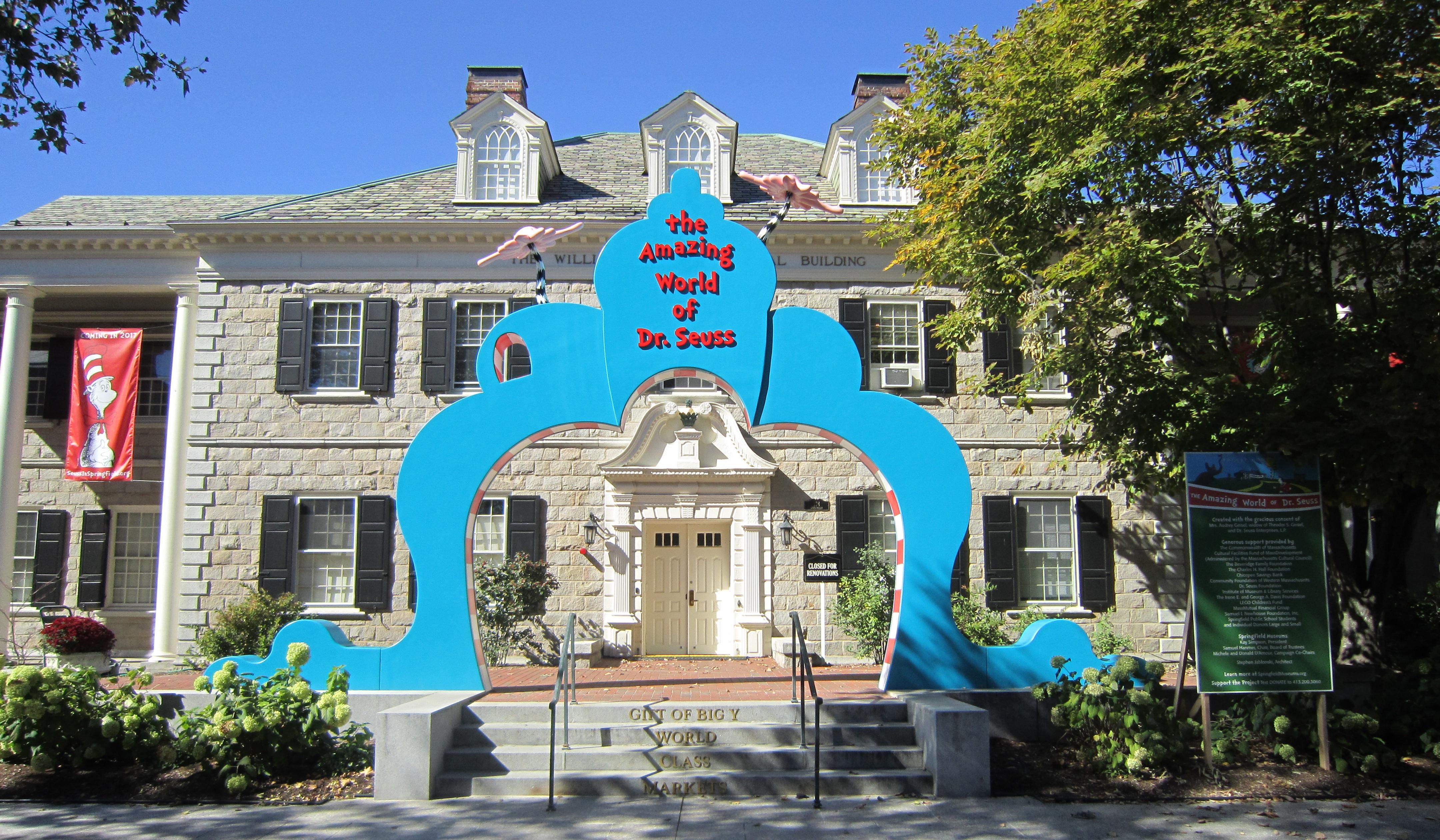 Dr Seuss Museum Arch