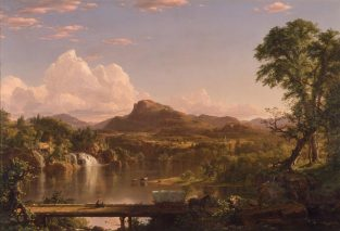 New England Scenery, Frederic Edwin Church