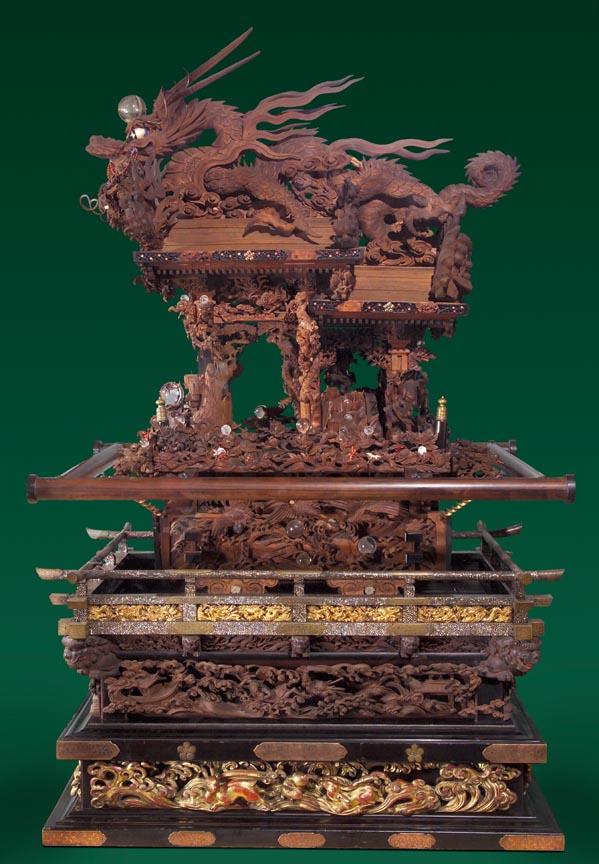Shrine by Genso Komatsu