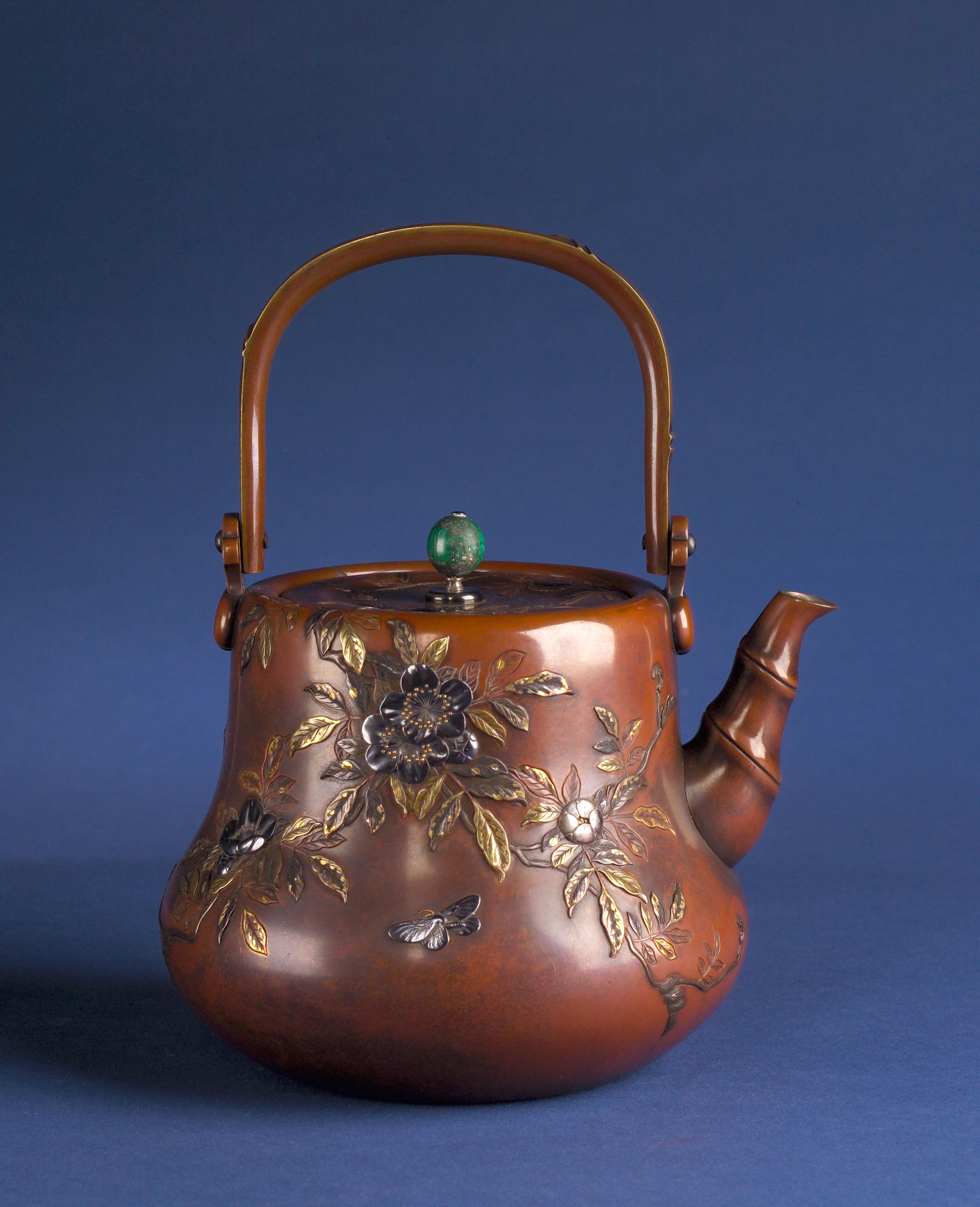 Teapot by Jomi Of Kyoto