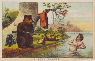A Bare Chance, Currier & Ives