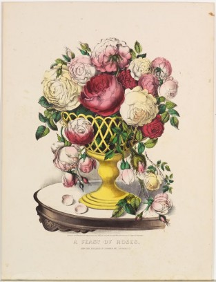A Feast Of Roses, Currier & Ives