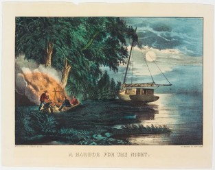A Harbor For The Night, Currier & Ives