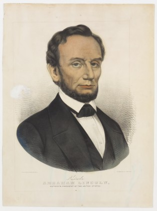 A. Lincoln. Abraham Lincoln. Sixteenth President Of The United States, Currier & Ives