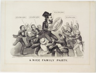 A Nice Family Party, Currier & Ives