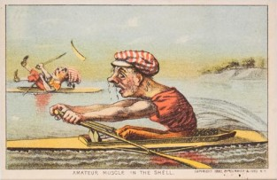 Amateur Muscle In The Shell, Currier & Ives