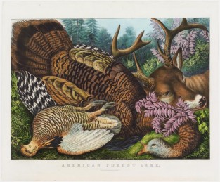 American Forest Game, Currier & Ives