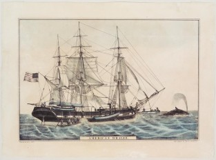 American Whaler, Nathaniel Currier