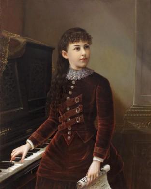 Annie Lewis, 1878, George F. Bottume