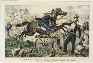 Battle Of Resaca De La Palma May 9th 1846, Currier & Ives