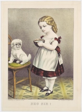 Beg Sir!, Currier & Ives