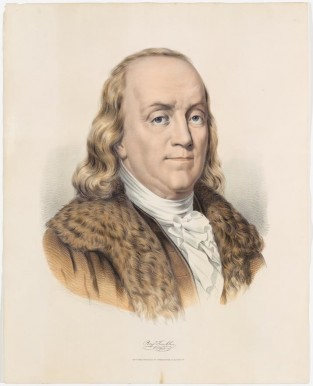 Benjamin A. Franklin, Currier & Ives