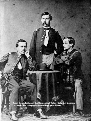Bond, Rice & Leavitt Of The 31st Mass. Infantry