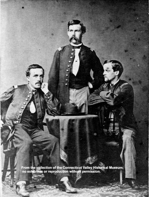 Bond, Rice & Leavitt Of The 31st Mass. Infantry