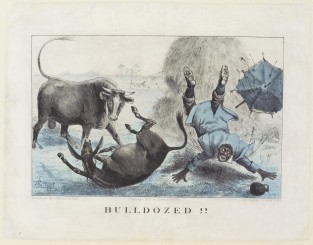 Bulldozed!!, Currier & Ives