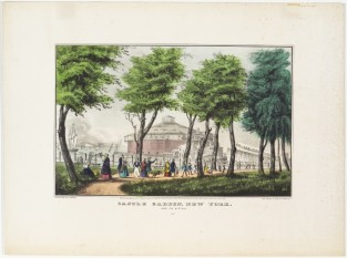Castle Garden, New York. From The Battery, Nathaniel Currier