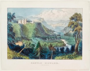 Castle Howard. Vale Of Avoca, Currier & Ives