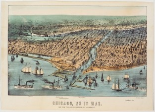 Chicago, As It Was, Currier & Ives