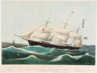 "Clipper Ship ""Dreadnought"", Nathaniel Currier"