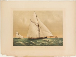 Cutter Genesta, R.Y.S., Currier & Ives