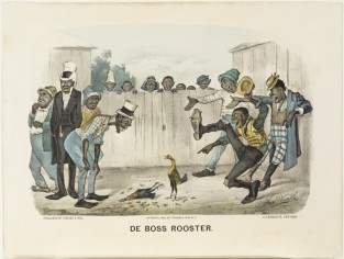De Boss Rooster, Currier & Ives