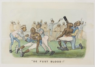 De Fust Blood!, Currier & Ives
