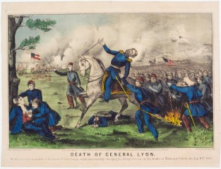 Death Of General Lyon., Currier & Ives