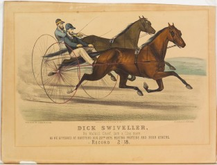 Dick Swiveller. By Walkill Chief, Dam A Claymare., Currier & Ives