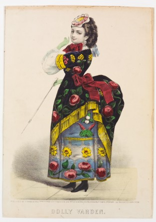 Dolly Varden, Currier & Ives