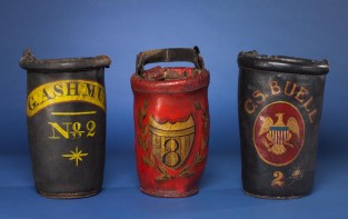 Domestic Fire Bucket – G. Ashmun No.2, Unknown