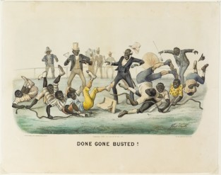 Done Gone Busted!, Currier & Ives