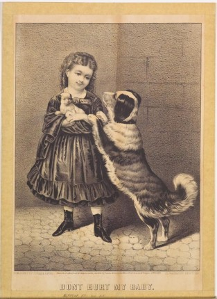 Don't Hurt My Baby, Currier & Ives