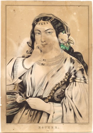 Esther, Nathaniel Currier